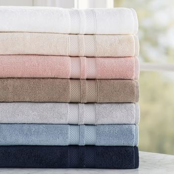 PB Organic 600-Gram Weight Bath Towels