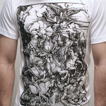 Albrecht Durer Four Horsemen of the Apocalypse by EngramClothing