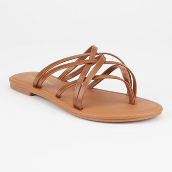 CITY CLASSIFIED Criss Cross Womens Sandals | Sandals