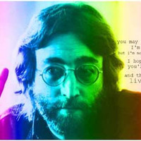 John Lennon Imagine Peace Quote Poster 11x17