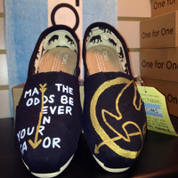 The Hunger Games Inspired Custom TOMS