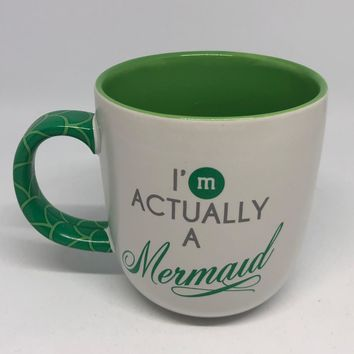 M&M's World I'm Actually a Mermaid Ceramic Coffee Mug New