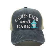 """Cruise Hair Don't Care 2"" Trucker Hat"