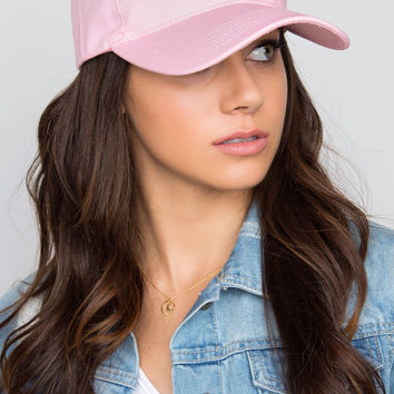 Tune In Baseball Cap - Pink