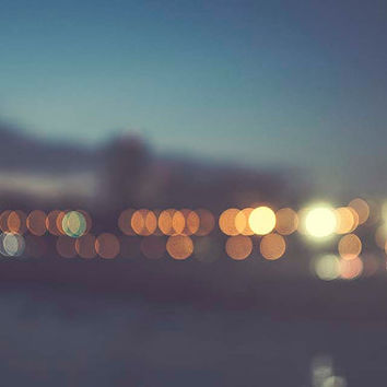 Santa Monica Beach Bokeh Night Photography travel California Los Angeles blur Skyline Oceanside