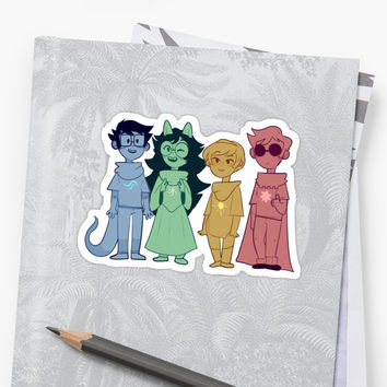 'Beta kids!' Sticker by nekurothings