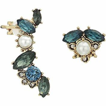 Marchesa Small Mismatch Earrings