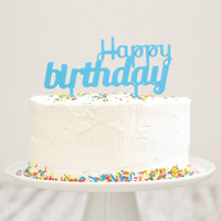 Cake Toppers | Birthday Cake Banner Decorations