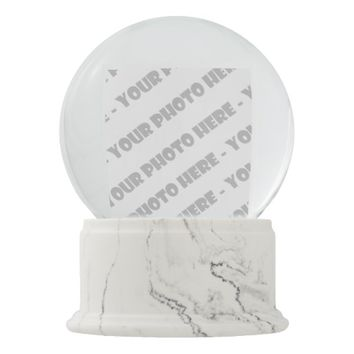 Personalized PHOTO Snowglobe - Create Your Own