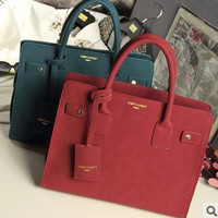 Ladies Vintage Bags Matte Tote Bag [8921713543]