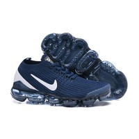 Nike Air VaporMax 2019 Flyknit 3.0 Navy White
