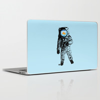 Goldfish Astronaut Laptop & iPad Skin by Matt Irving
