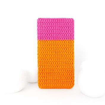 Vegan Samsung Galaxy S9 cover, Sony Xperia XA2 case, Pink Nokia 7 cozy, Orange iPhone X sleeve, Google Pixel 2 sock, Xiaomi Redmi 5A pouch