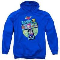 Teen Titans Go! T Collage Mens/Youth Pullover Hoodie