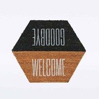 Goodbye Welcome Doormat - Urban Outfitters
