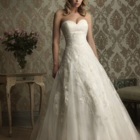 Allure Bridals 8858 Lace Ball Gown Wedding Dress