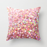 Pinkalicious Throw Pillow by Lisa Argyropoulos | Society6