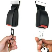 Buckle Up Seat Belt Safety Seatbelt Key Holder Rack Hook
