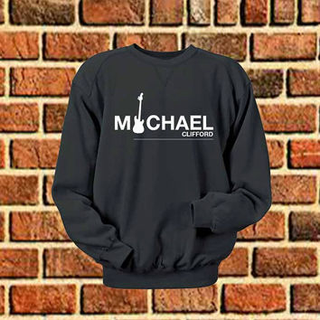 michael clifford logo sweater Sweatshirt Crewneck Men or Women Unisex Size