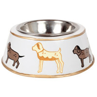 Kennel Club Cream Dog Bowl