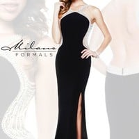 Milano Formals Sexy Open Back Dress E1869