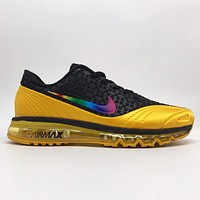 Nike Air Max New Fashion Multicolor Hook Sports Running Leisure Shoes