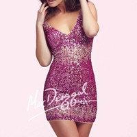 Mac Duggal Homecoming 4036N Dress
