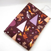 Fox Changing Pad, Woodland Diaper Changing Mat, Diaper Bag Accessory, Baby Shower Gift