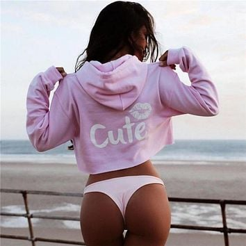 Fashion Printed Hooded Sweater