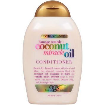 OGX Extra Strength Damage Remedy + Coconut Miracle Oil Conditioner, 13 Ounce - Walmart.com