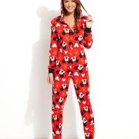 Minnie Mouse Hooded Footed Pajamas