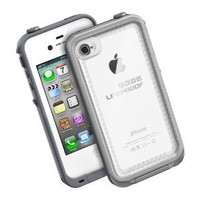iPhone 4 LifeProof Case Clear - White