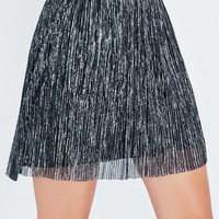 Kendall & Kylie Metallic Pleated Skirt at PacSun.com