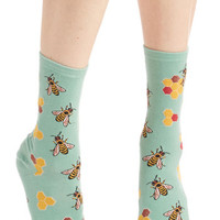 Critters What's the Buzz? Socks by ModCloth