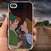 Peter Pan And Wendy Kiss-iPhone cases 4/4S Case iPhone 5/5S/5C Case Samsung Galaxy S3/S4 Case