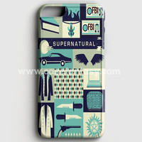 Supernatural Cartoon iPhone 6 Plus/6S Plus Case | casefantasy