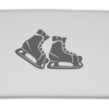 Bath Mat, Ice Skates For Hockey Ice Skates For Figure Skating The Game Of Hockey