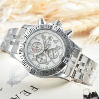 Breitling Men Fashion Mechanics Watches Wrist Watch