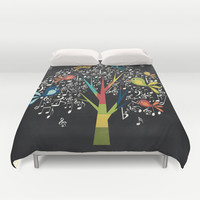 Song Birds Duvet Cover by Digi Treats 2 | Society6