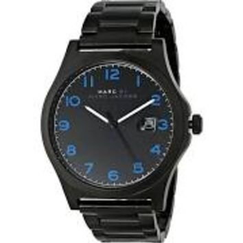 Marc by Marc Jacobs Black Dial Stainless Steel Mens Watch MBM5059