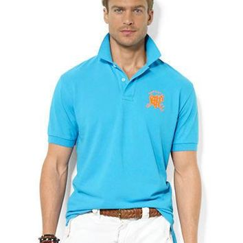 Polo Ralph Lauren Classic-Fit Cross Mallets Mesh Polo Shirt