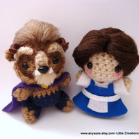 Beauty and the Beast Amigurumi