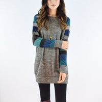 Casual Long Sleeve Knitting Dress
