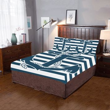 Anchor 3-Pieces Bedding Set