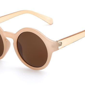 Rounded Out Sunglasses