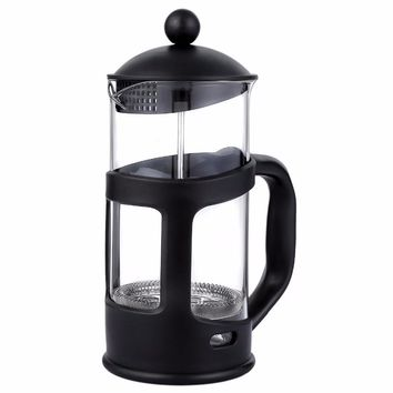 French Press Coffee  Pot Tea Maker Teapot With Stainless Steel Filter