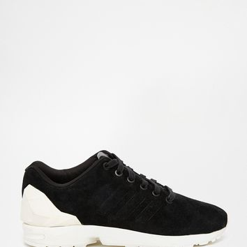 adidas Originals Black ZX Flux Jewel Trainers at asos.com