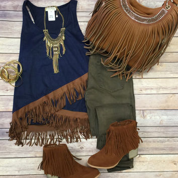 Fringe Affliction Top