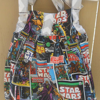 Toddler Star wars sweetheart halter size 4t