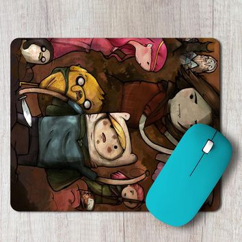 Rectangle Mouse Pad Adventure Time Lord Of The Rings